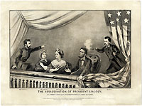 Lincoln Assassination: Iconic print by Currier & Ives