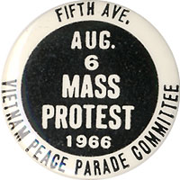 Aug. 6 1966 Mass Protest / Vietnam Peace Parade Committee