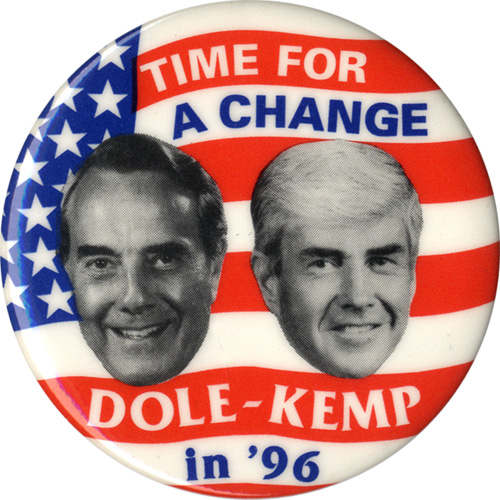 Time for a Change / Dole-Kemp in '96