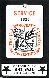 The 1968 Democratic National Convention