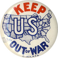 Keep U.S. Out of War