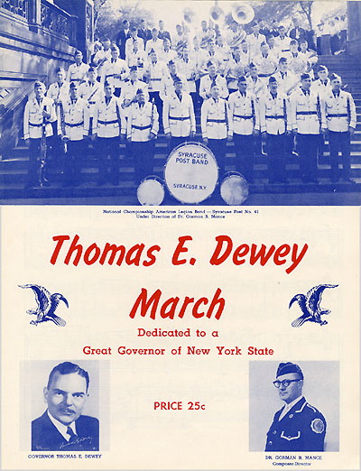 Thomas E. Dewey March