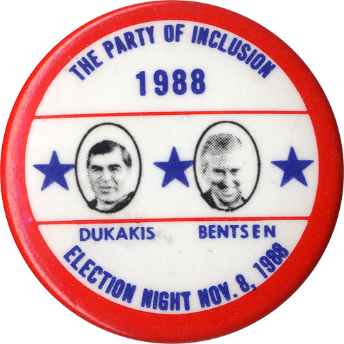 The Party of Inclusion Dukakis Bentsen