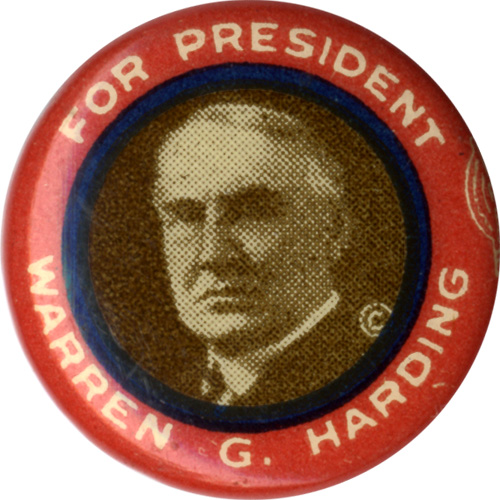 For President Warren G. Harding