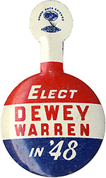 Elect Dewey Warren in '48