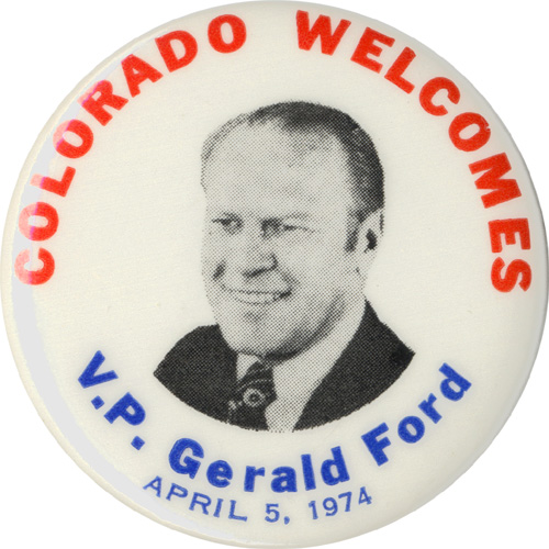 Colorado Welcomes V.P. Gerald Ford
