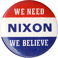 We Need NIXON We Believe