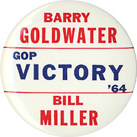 Barry Goldwater / GOP Victory '64 / Bill Miller