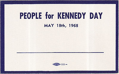People for Kennedy Day