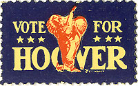 Vote for Hoover