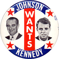 Johnson Wants Kennedy