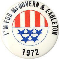 I'm for McGovern & Eagleton 1972