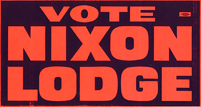 Vote Nixon Lodge