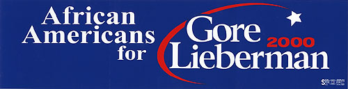 African Americans for Gore Lieberman