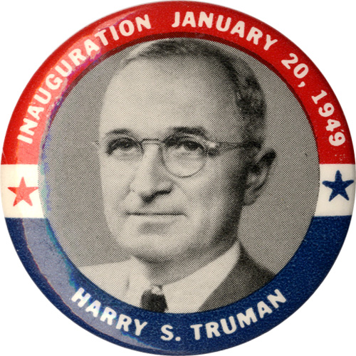 Inauguration January 20, 1949 / Harry S. Truman