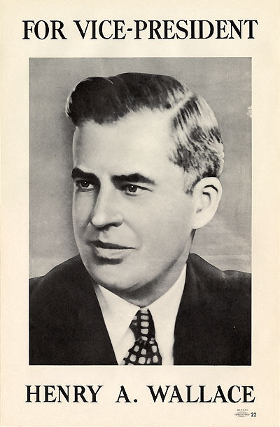 For Vice-President Henry A. Wallace