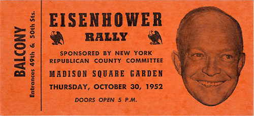 Eisenhower Rally