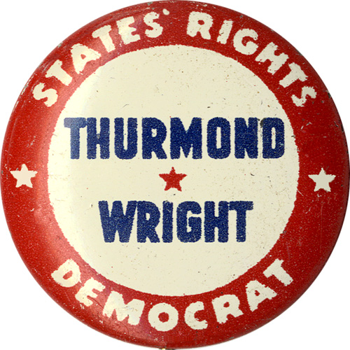Thurmond Wright States' Rights Democrat