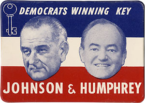 Democrats Winning Key Johnson & Humphrey