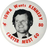 Iowa Wants Kennedy - Carter Must Go