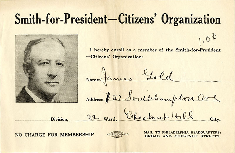 Smith-for-President Citizens' Organization
