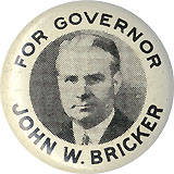For Governor John W. Bricker
