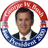 George W. Bush For President 2000