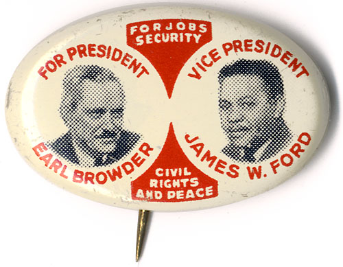 For Jobs Security Civil Rights and Peace
