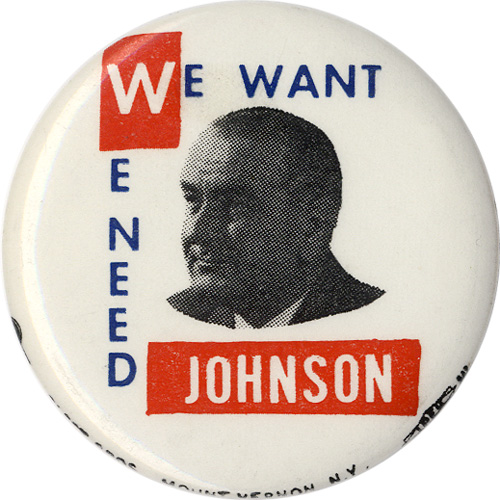 We Want We Need Johnson