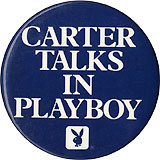 Carter Talks in Playboy