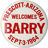 Prescott Arizona Welcomes Barry Sept-3-1964
