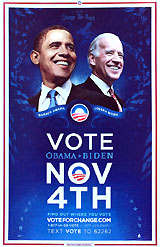 VOTE Obama Biden NOV 4TH