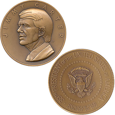 1977 Official Inaugural Medal