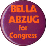 BELLA ABZUG for Congress