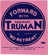 Forward with President Truman