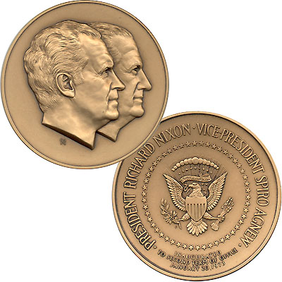 1973 Official Inaugural Medal