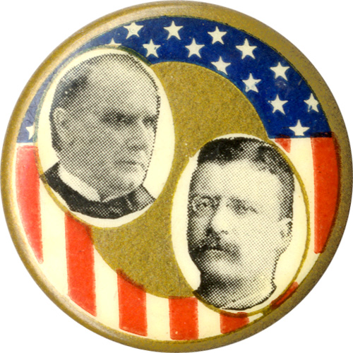 McKinley and Roosevelt: Unique patriotic jugate