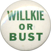 Willkie or Bust