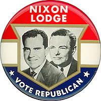Nixon Lodge * Vote Republican