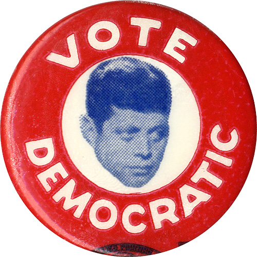 John F. Kennedy: Vote Democratic