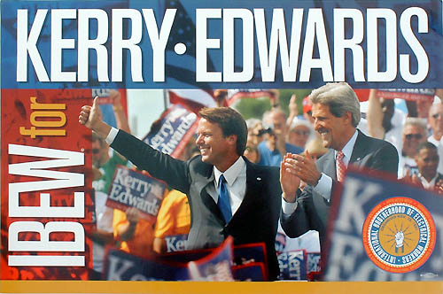 IBEW for Kerry Edwards