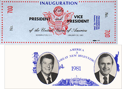 Inauguration of the President and Vice President (special seating)