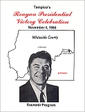 Reagan Presidential Victory Celebration