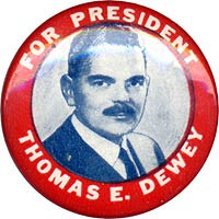 For President Thomas E. Dewey