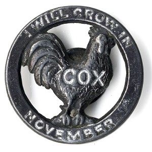 I Will Crow in November / COX