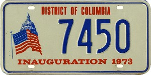 District of Columbia - Inauguration 1973