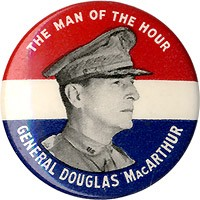 The Man of the Hour General Douglas MacArthur