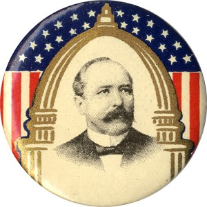 Alton Parker: Classic Capitol Dome portrait button