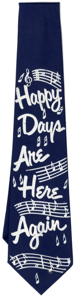 Prohibition: Happy Days Are Here Again necktie