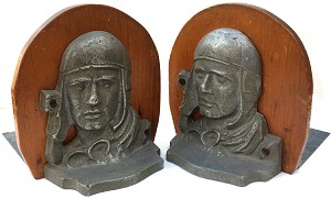 Charles Lindbergh: Aviator bookends